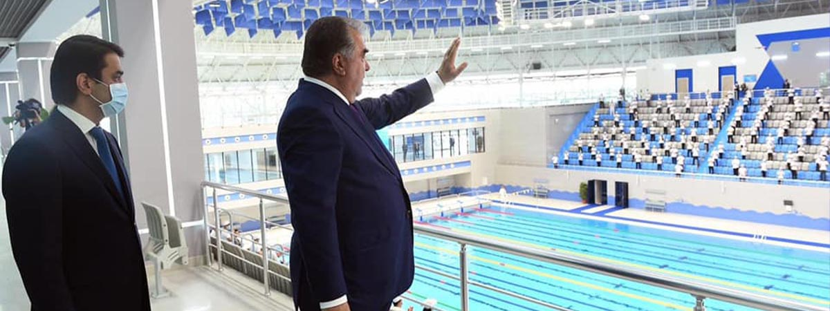 Spor Kompleksi - Duşanbe / TACİKİSTAN